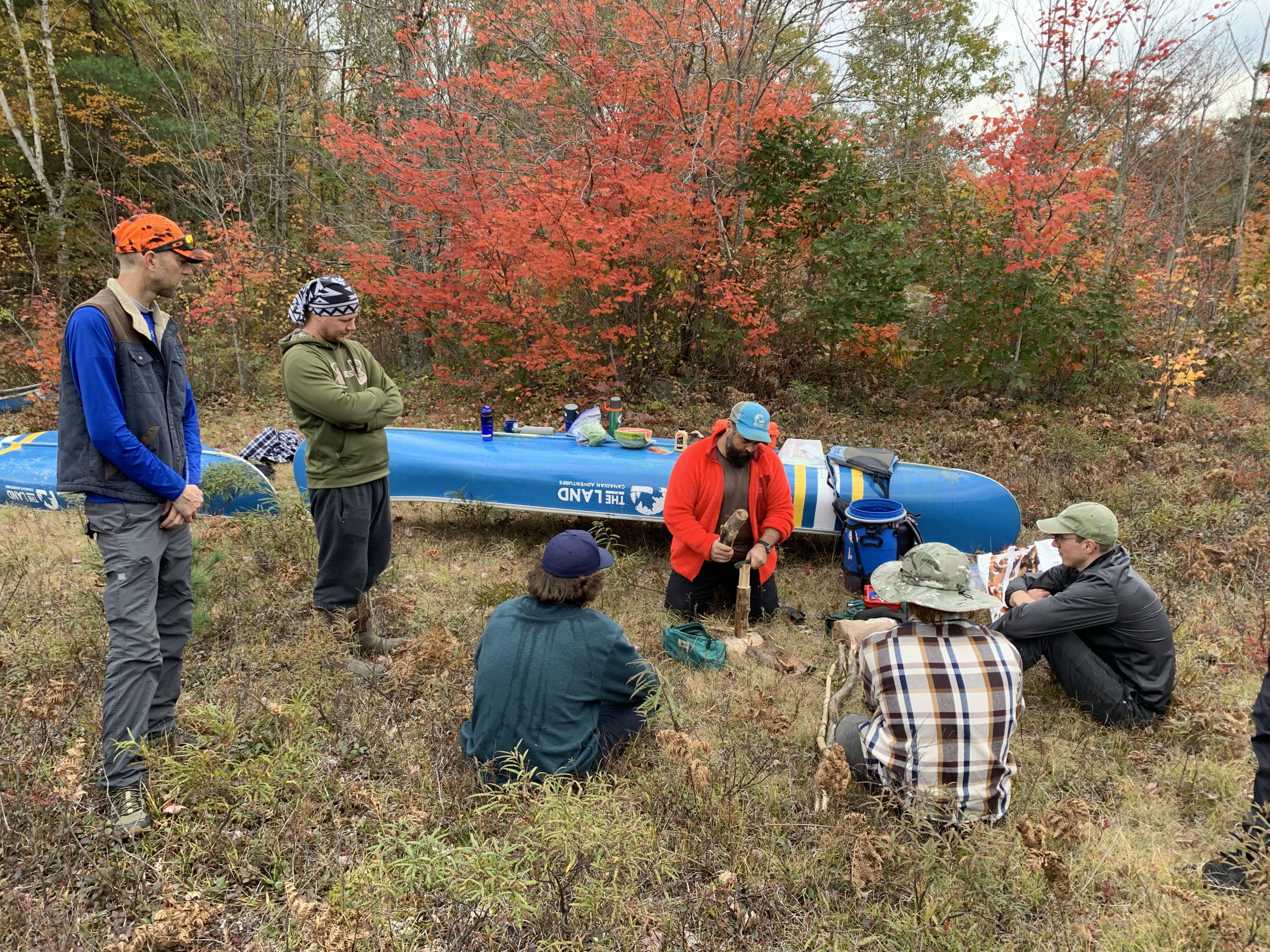 Group Meeting at The Lake