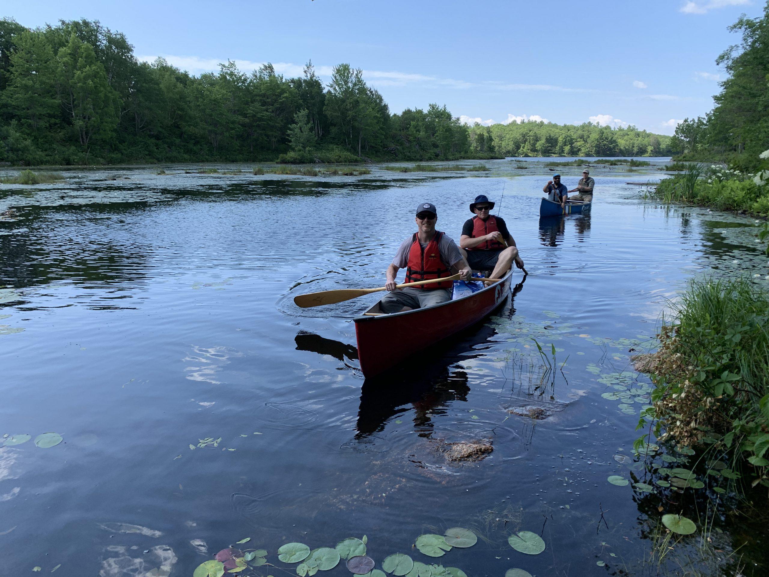 Peaceful Lake Trip