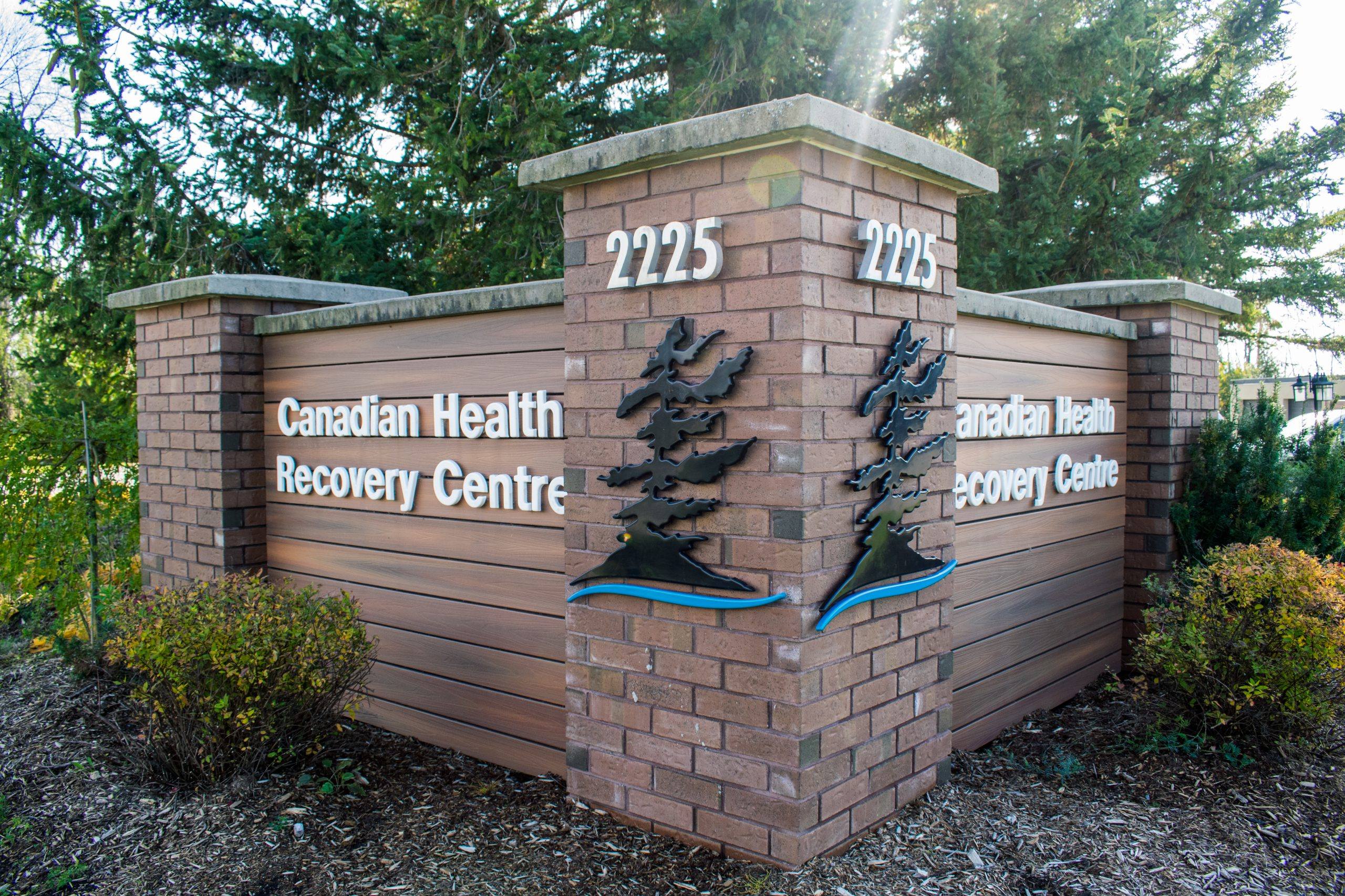 Front View of Canadian Health Recovery Centre